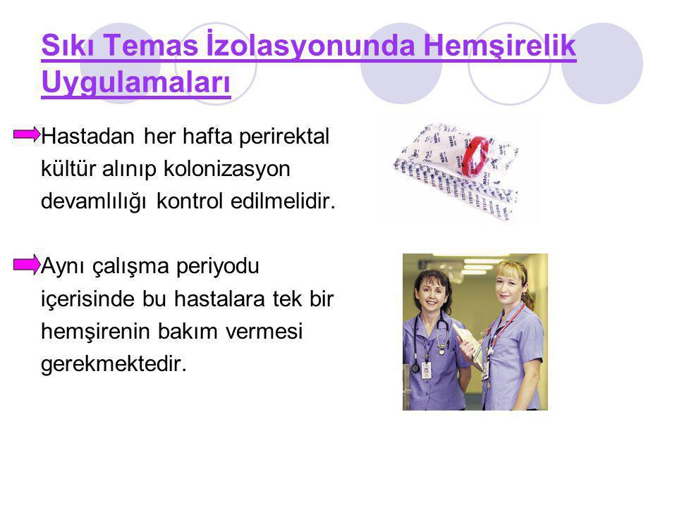 Sıkı Temas İzolasyonunda Hemşirelik Uygulamaları