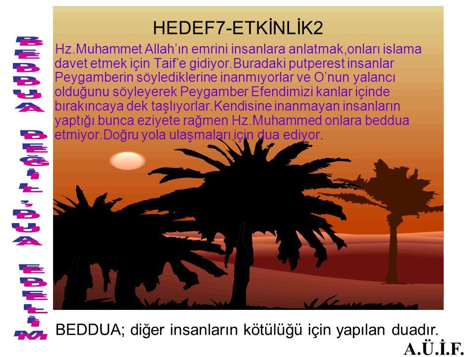 BEDDUA DEĞİL,DUA EDELİM