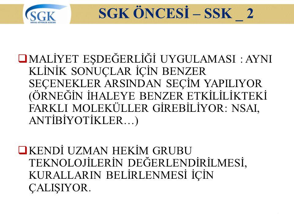 SGK ÖNCESİ – SSK _ 2