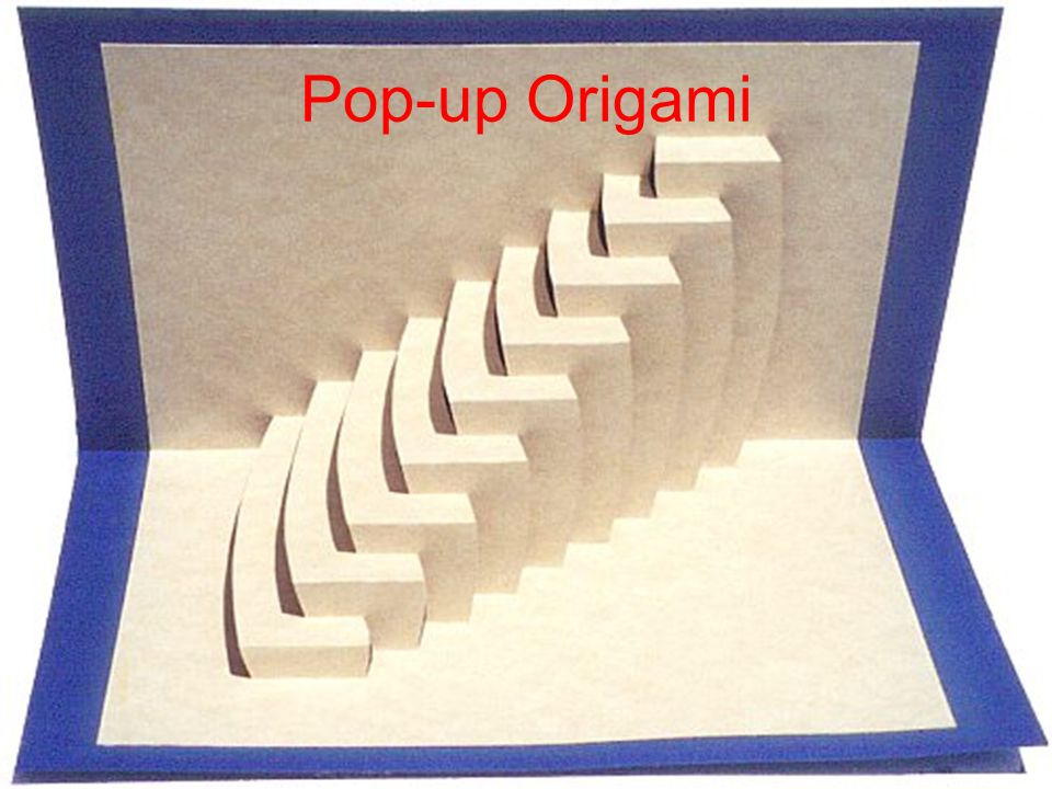 Pop-up Origami