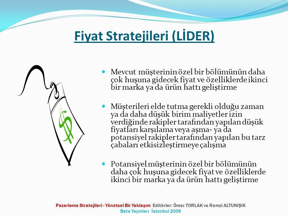 Fiyat Stratejileri (LİDER)