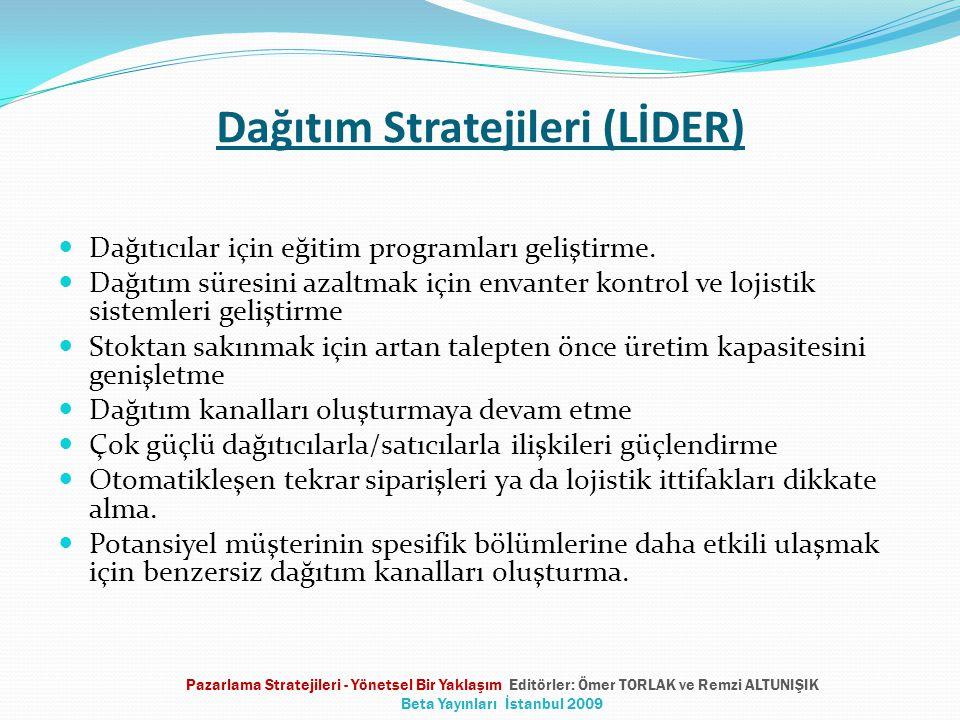 Dağıtım Stratejileri (LİDER)