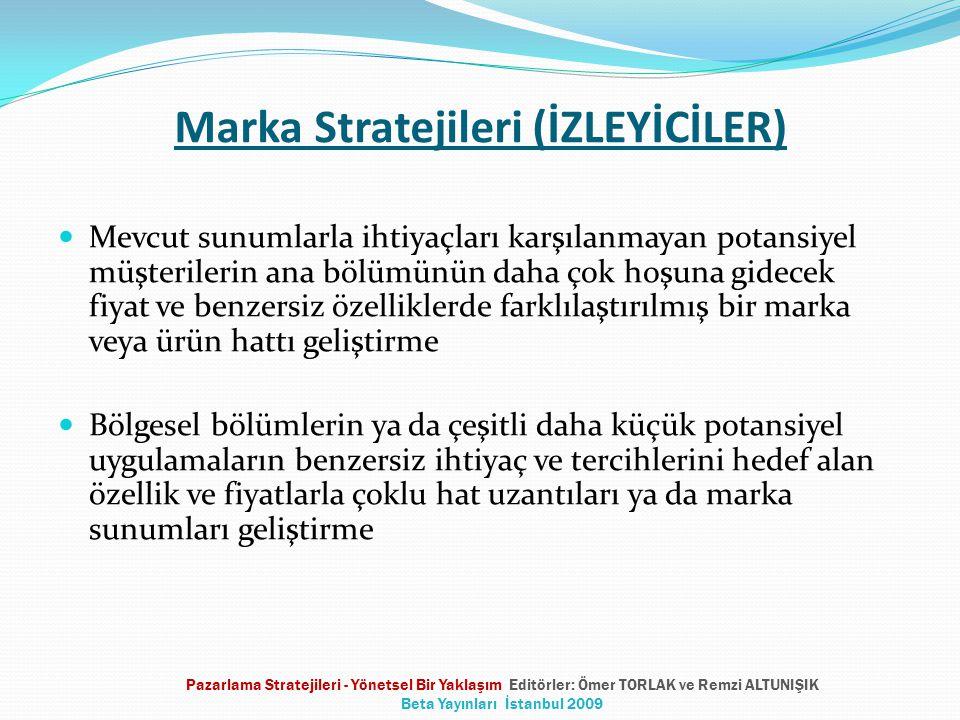 Marka Stratejileri (İZLEYİCİLER)