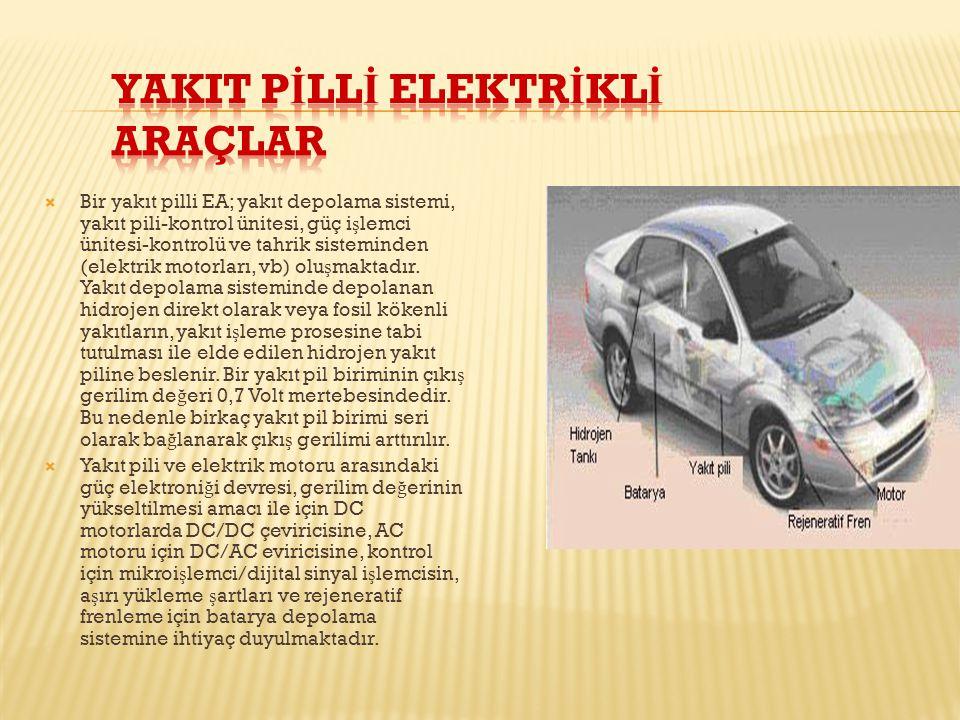 YakIt Pİllİ Elektrİklİ Araçlar
