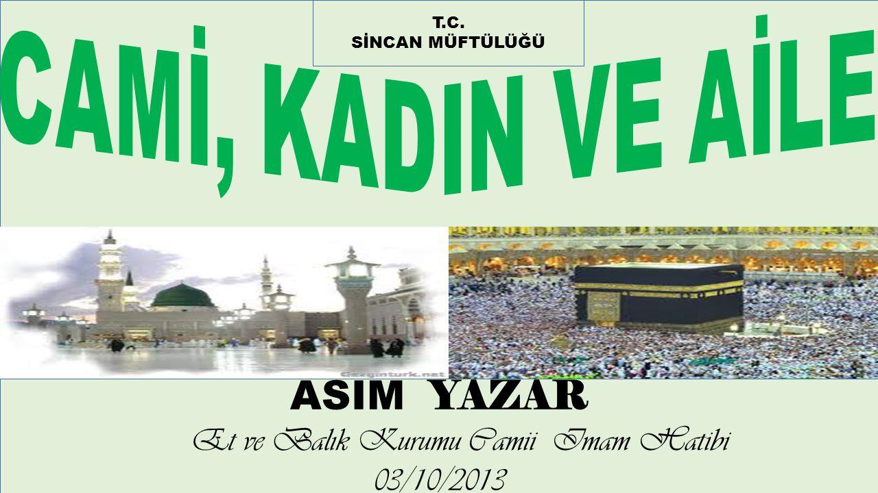Et ve Balık Kurumu Camii Imam Hatibi 03/10/2013