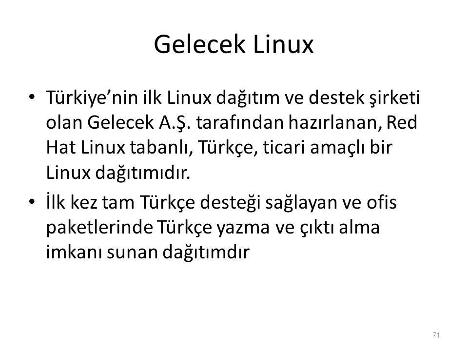 Gelecek Linux