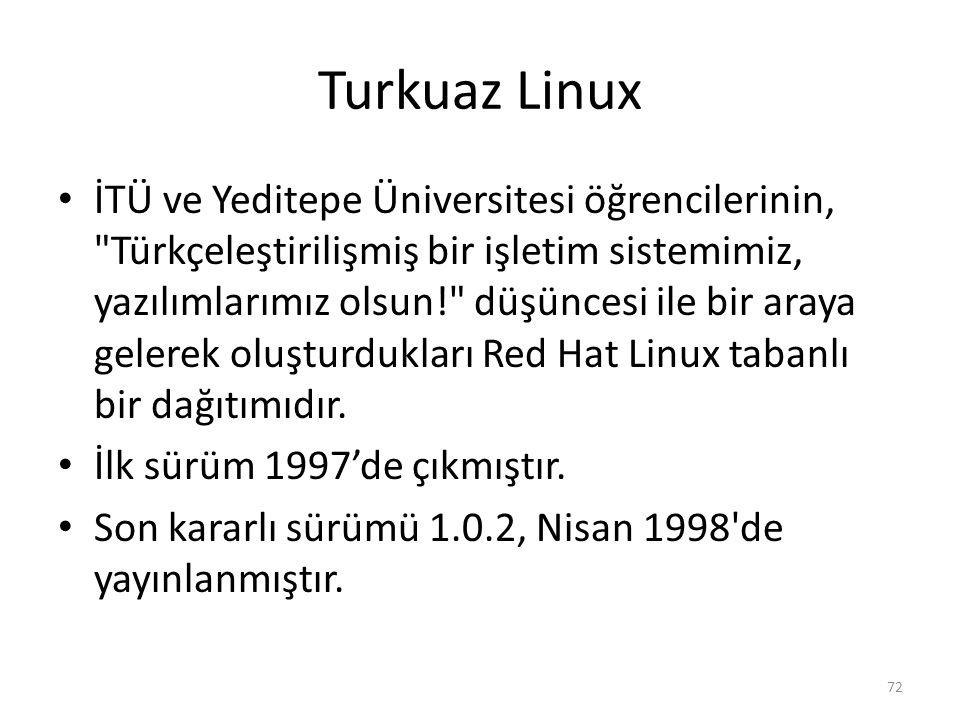 Turkuaz Linux