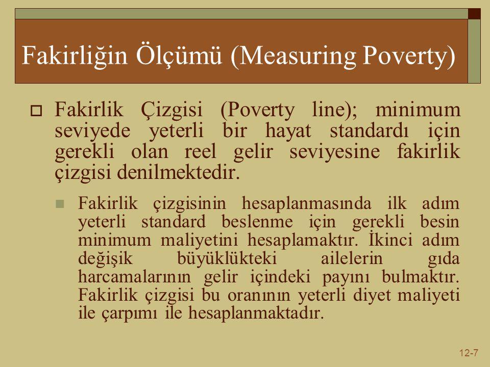 Fakirliğin Ölçümü (Measuring Poverty)