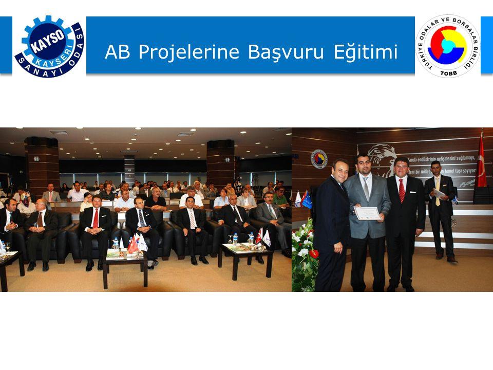 AB Projelerine Başvuru Eğitimi