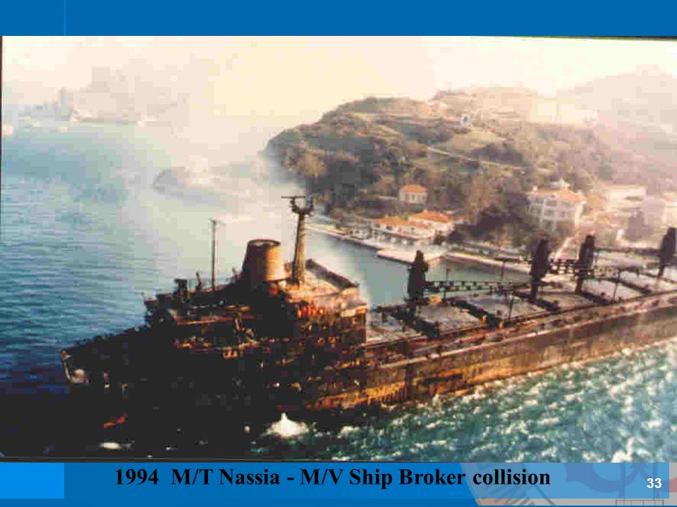 1994 M/T Nassia - M/V Ship Broker collision
