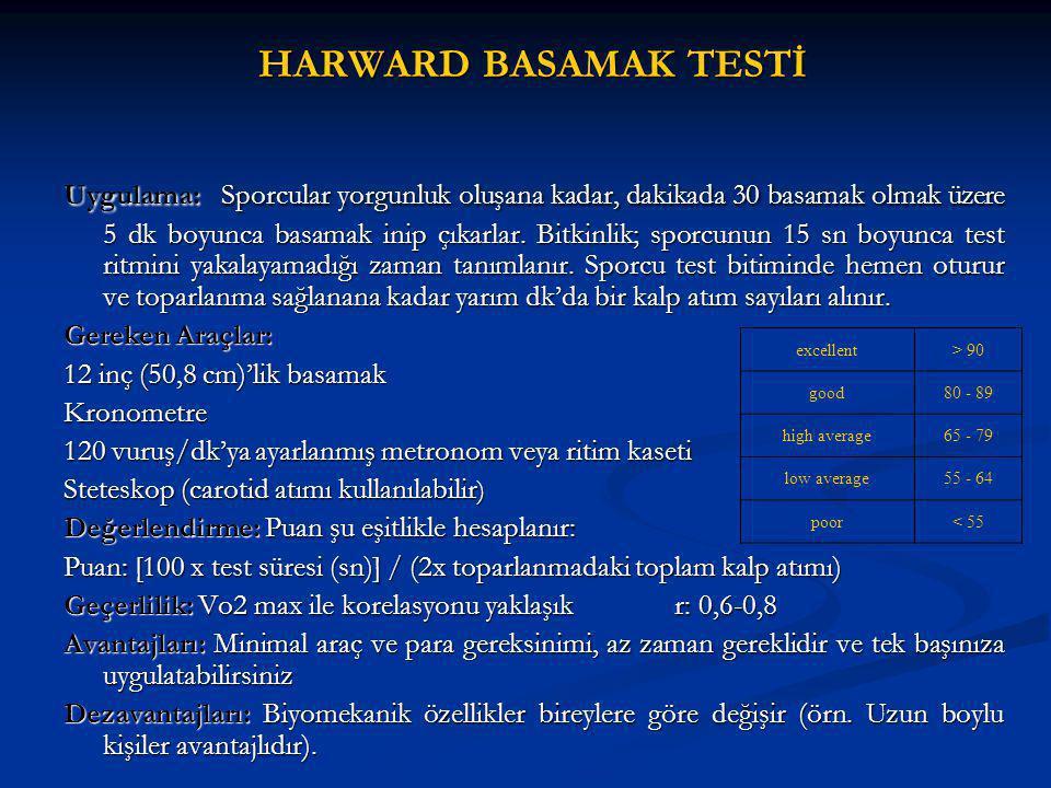 HARWARD BASAMAK TESTİ