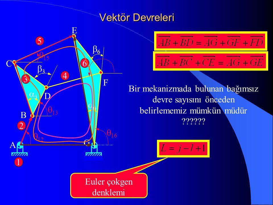 Vektör Devreleri E 5 b6 q15 C 6 b3 4 3 F