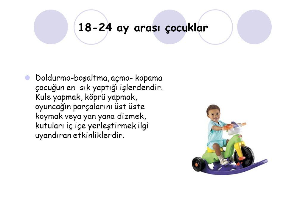 18-24 ay arası çocuklar