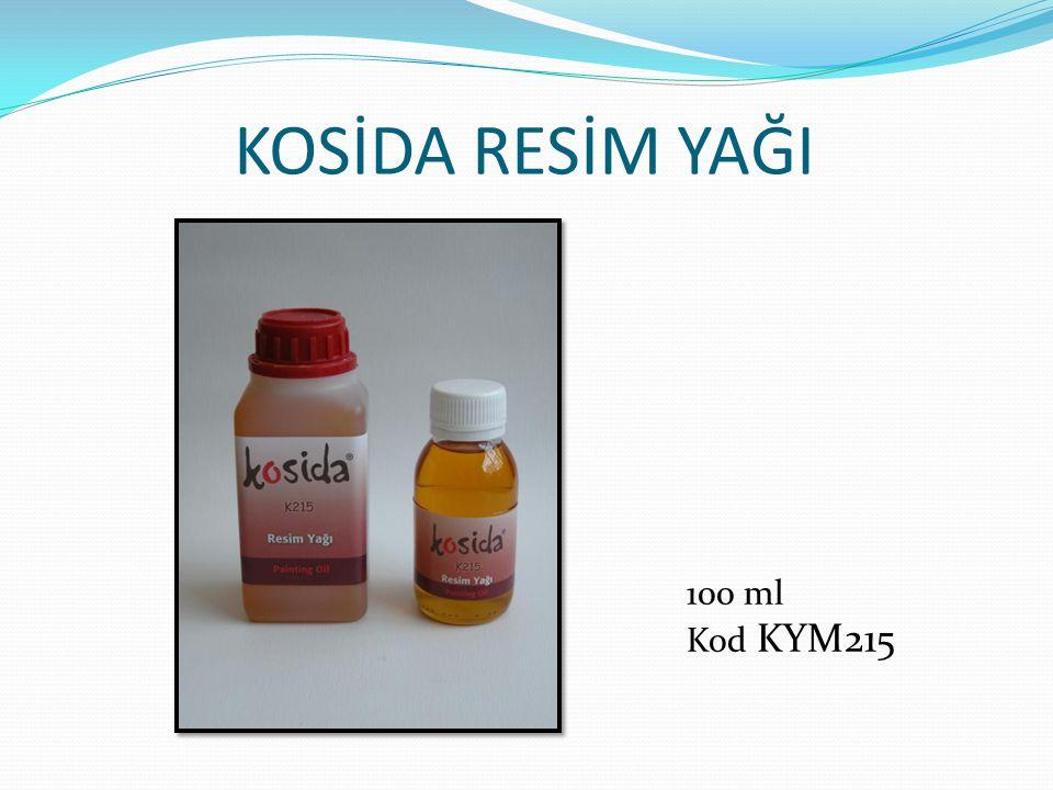KOSİDA RESİM YAĞI 100 ml Kod KYM215