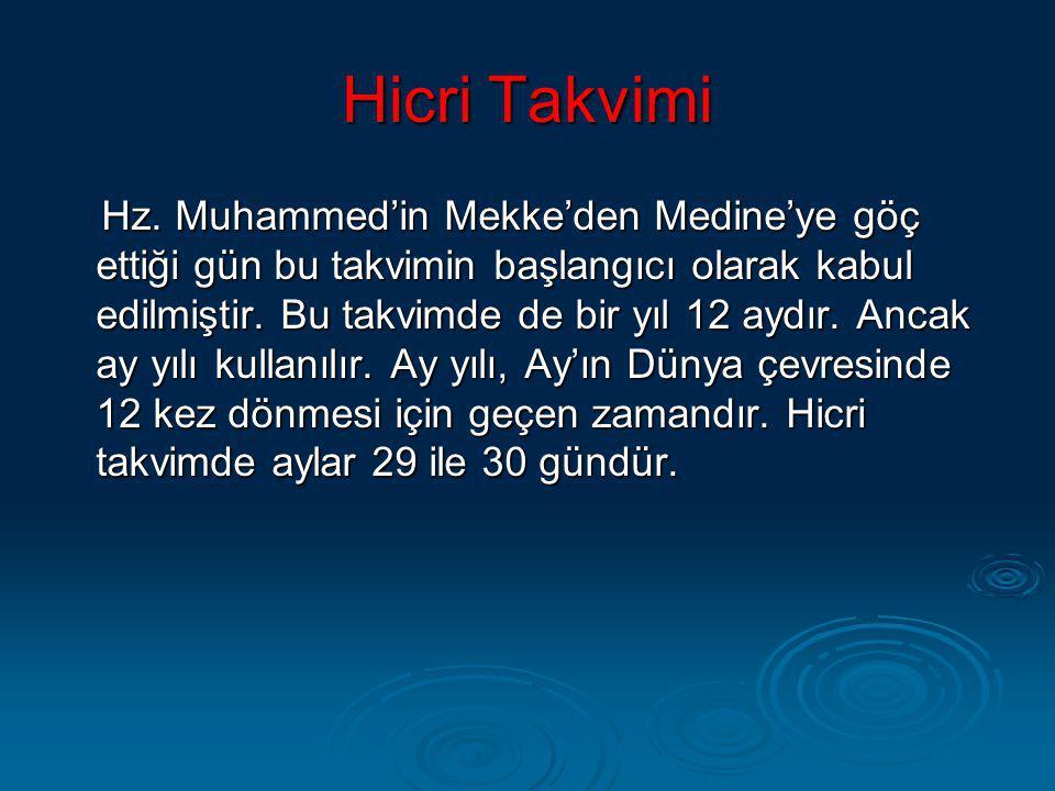 Hicri Takvimi