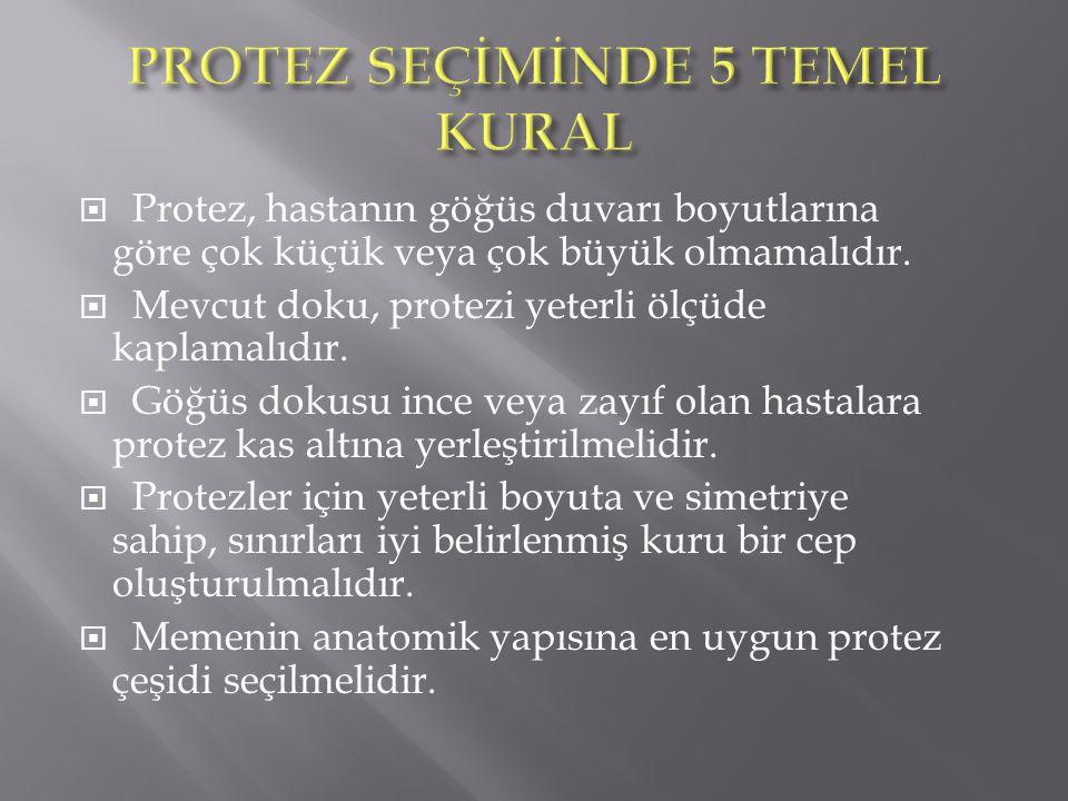 PROTEZ SEÇİMİNDE 5 TEMEL KURAL