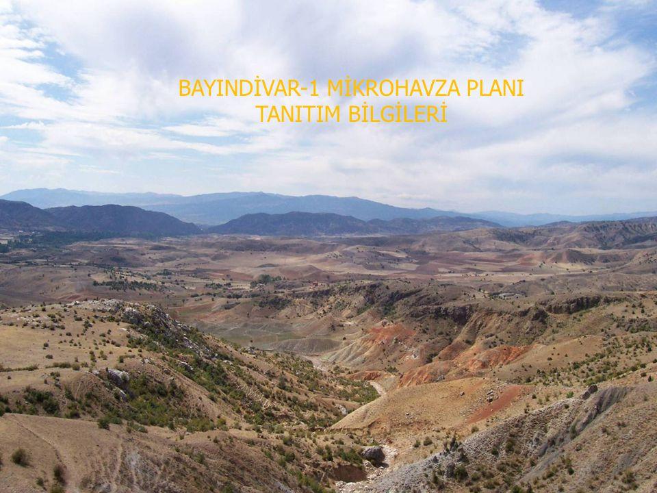 BAYINDİVAR-1 MİKROHAVZA PLANI