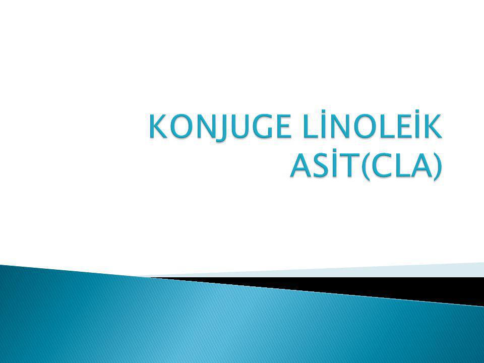 KONJUGE LİNOLEİK ASİT(CLA)