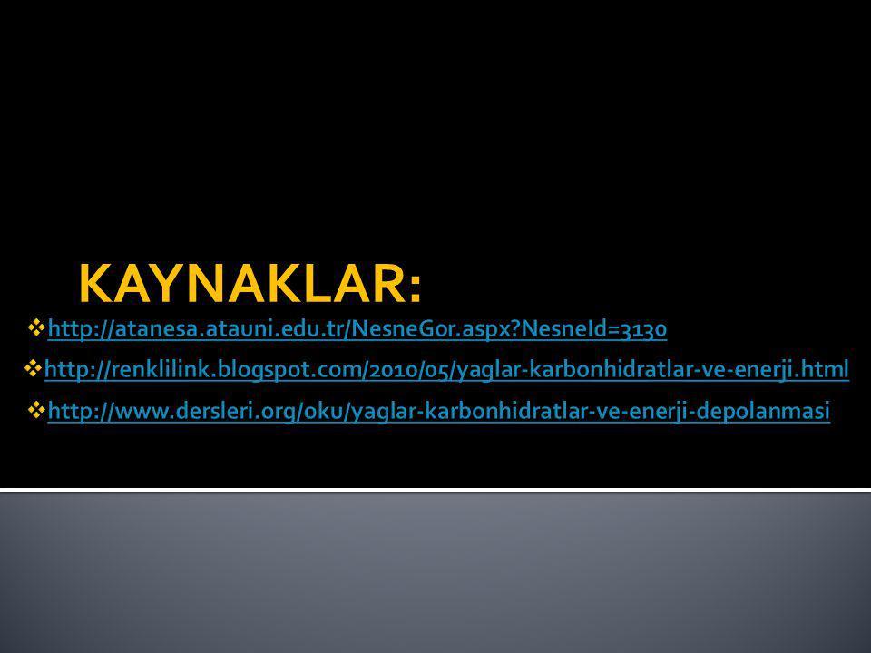KAYNAKLAR: http://atanesa.atauni.edu.tr/NesneGor.aspx NesneId=3130