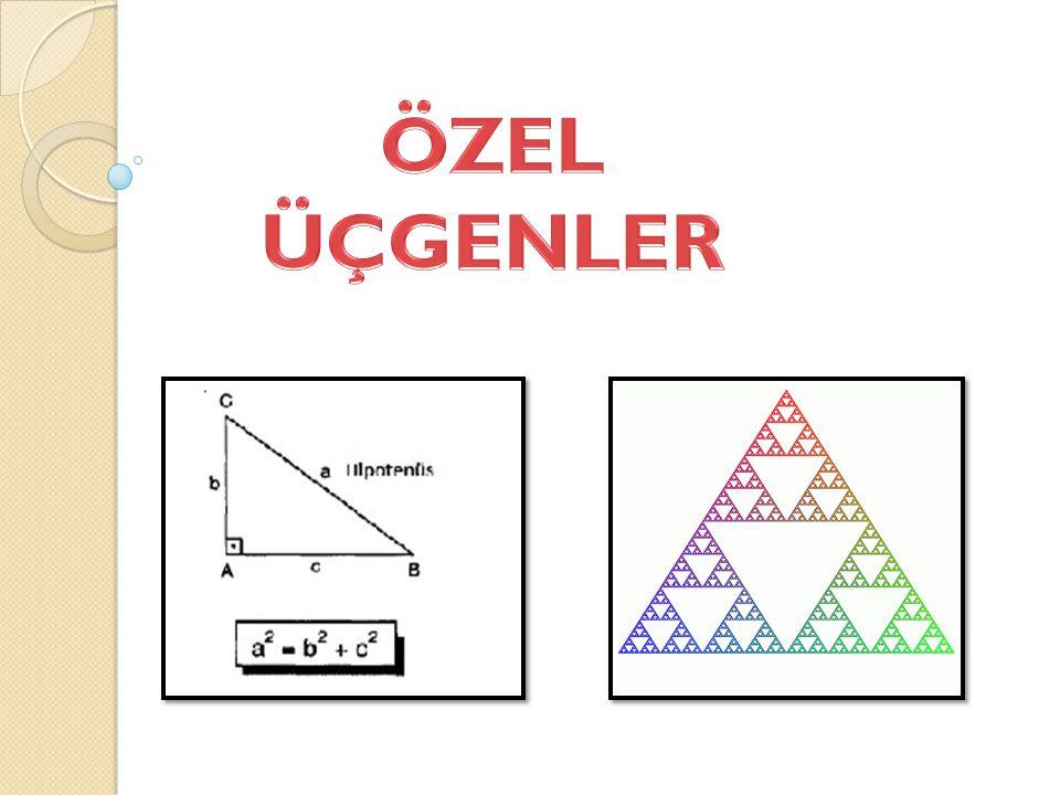 ÖZEL ÜÇGENLER