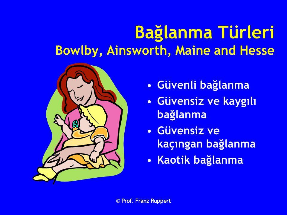 Bağlanma Türleri Bowlby, Ainsworth, Maine and Hesse