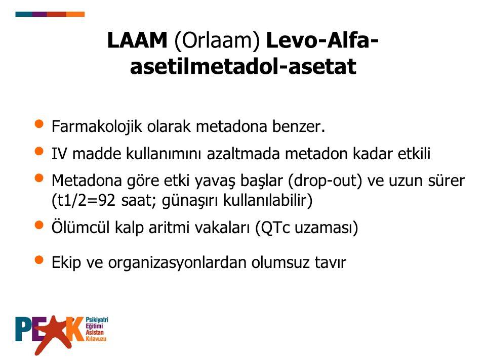 LAAM (Orlaam) Levo-Alfa-asetilmetadol-asetat
