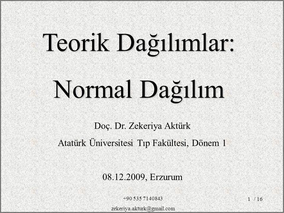 Atatürk Üniversitesi Tıp Fakültesi, Dönem 1