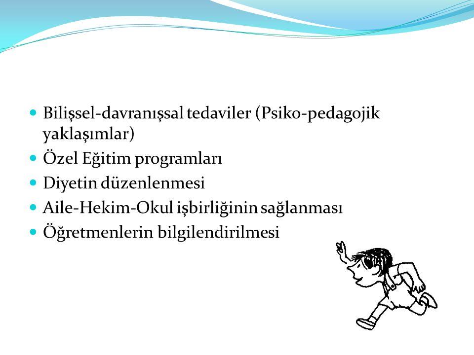 Bilişsel-davranışsal tedaviler (Psiko-pedagojik yaklaşımlar)