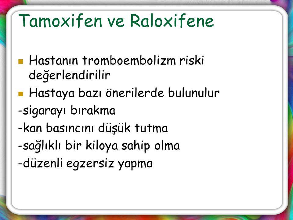 Tamoxifen ve Raloxifene