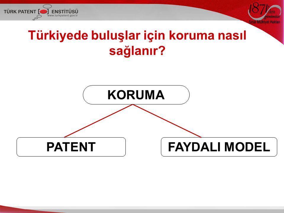 Türkiyede buluşlar için koruma nasıl sağlanır