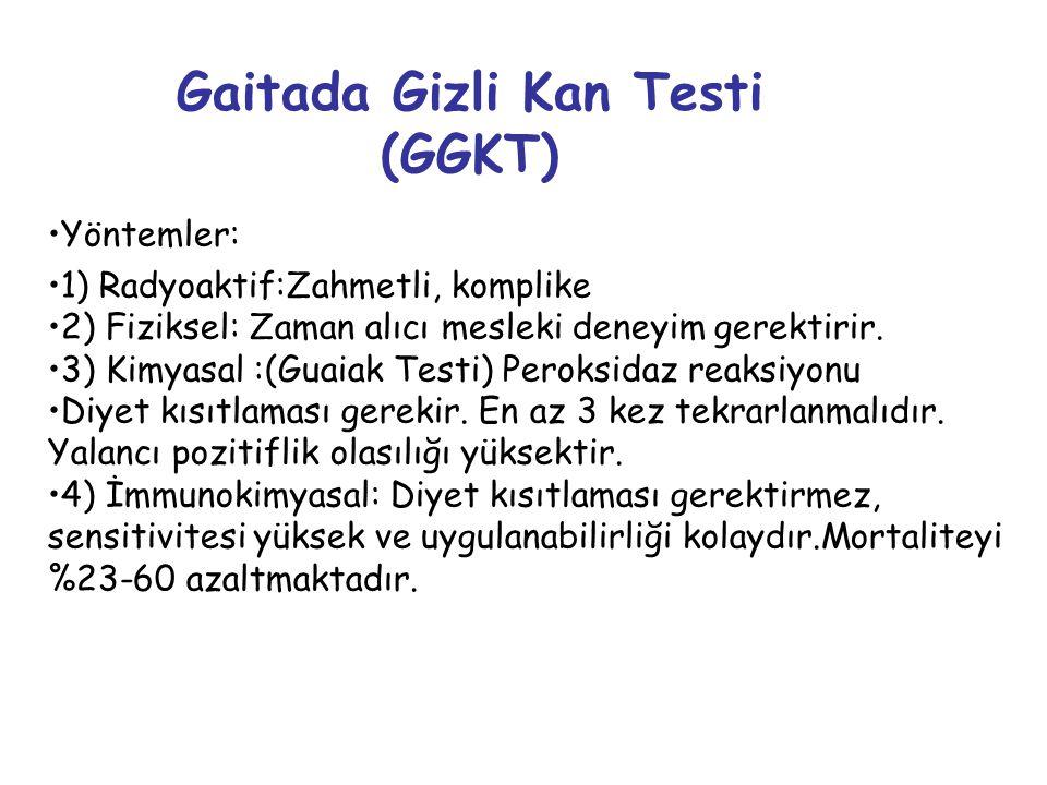Gaitada Gizli Kan Testi (GGKT)