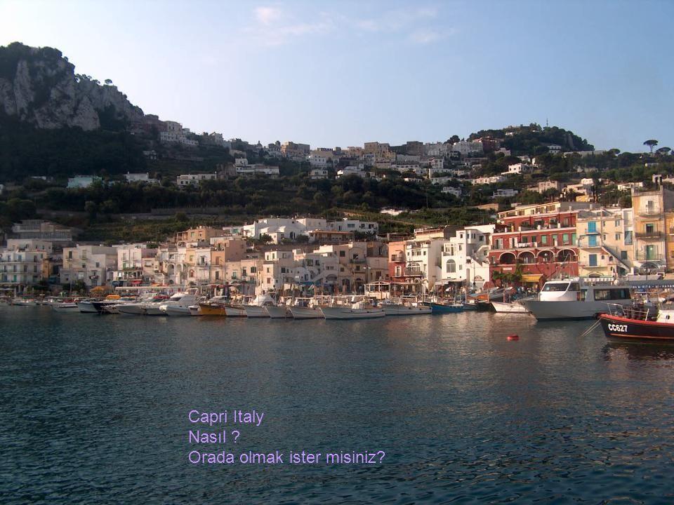 Capri Italy Nasıl Orada olmak ister misiniz