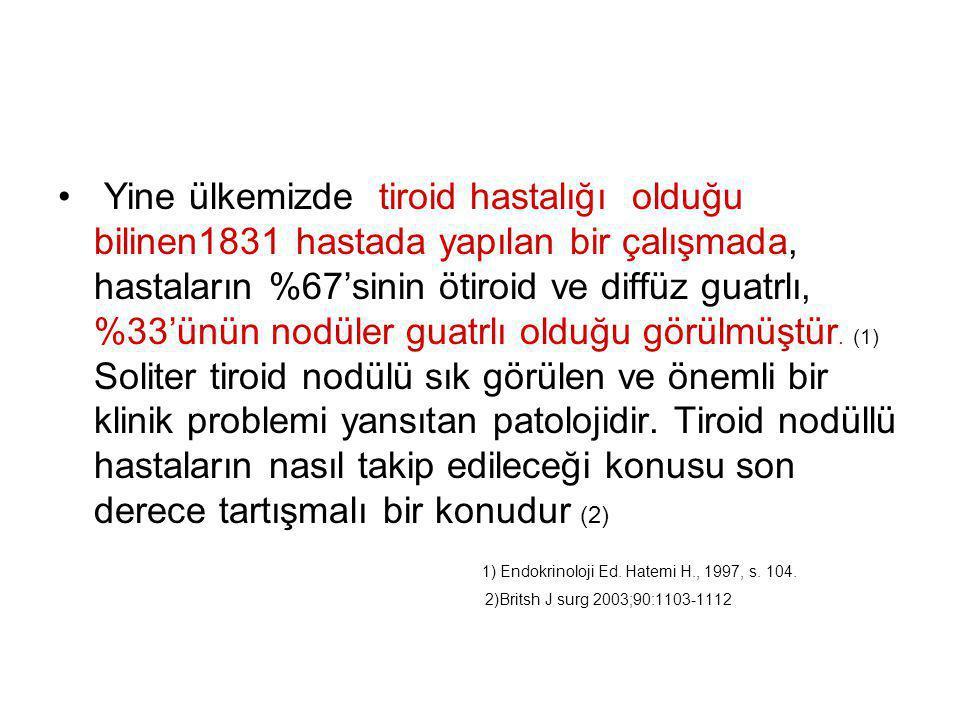 1) Endokrinoloji Ed. Hatemi H., 1997, s. 104.