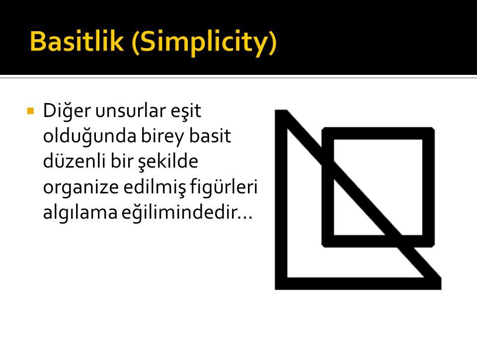 Basitlik (Simplicity)