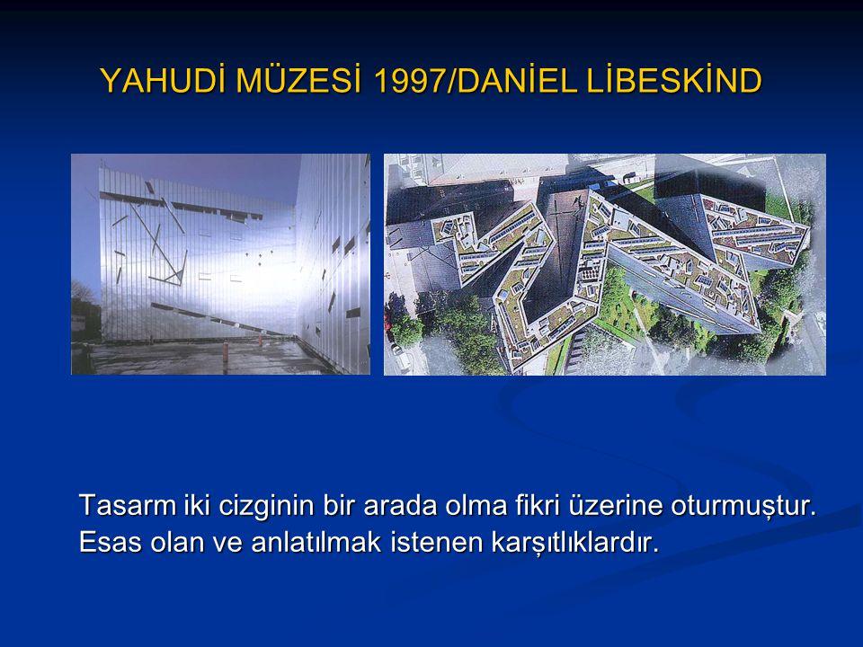 YAHUDİ MÜZESİ 1997/DANİEL LİBESKİND