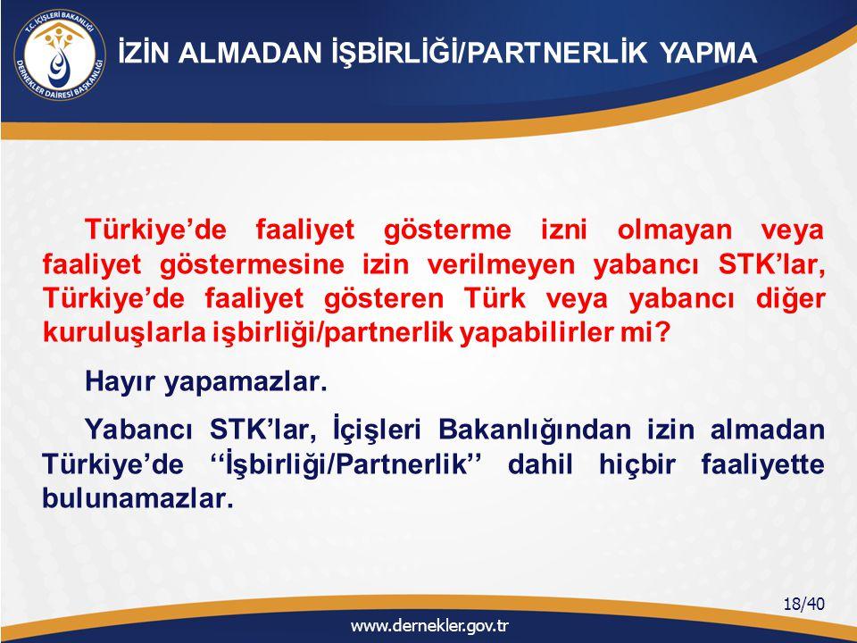 İZİN ALMADAN İŞBİRLİĞİ/PARTNERLİK YAPMA