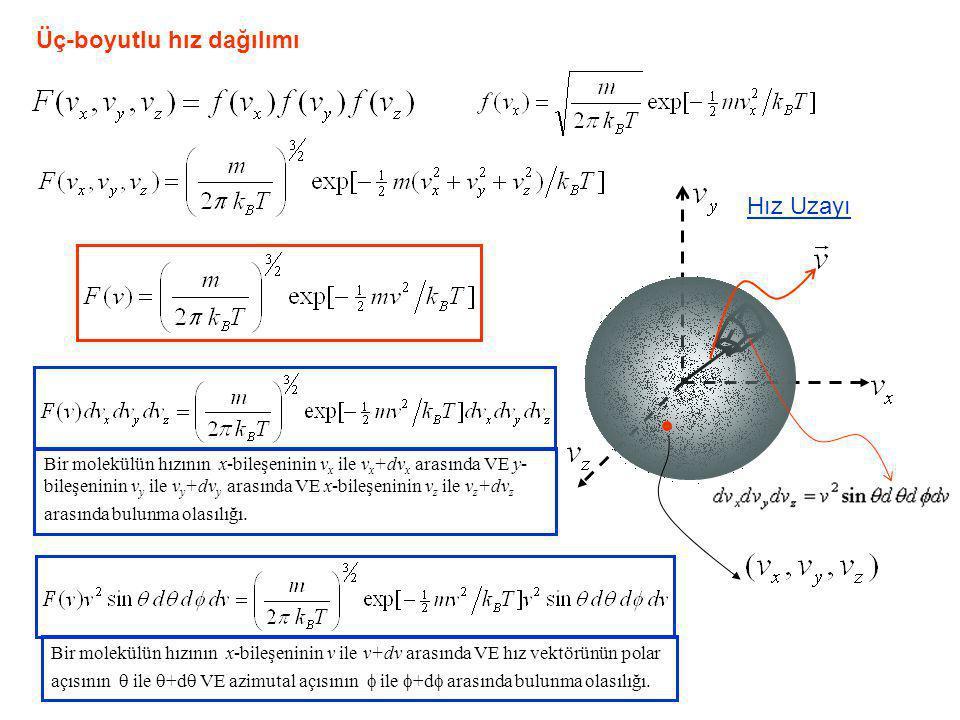 Üç-boyutlu hız dağılımı