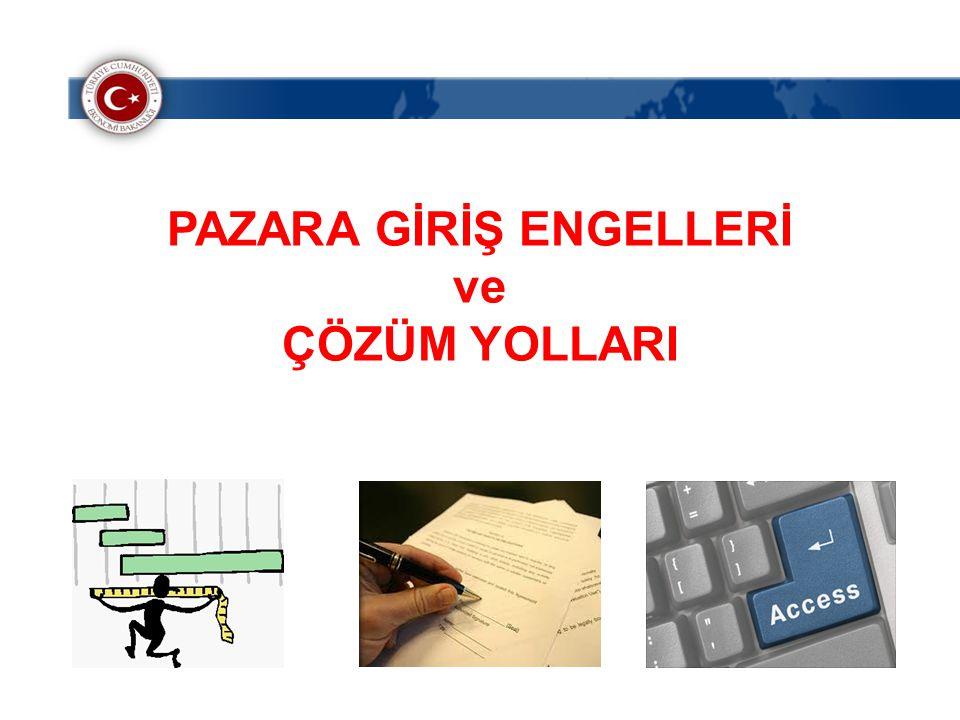 PAZARA GİRİŞ ENGELLERİ
