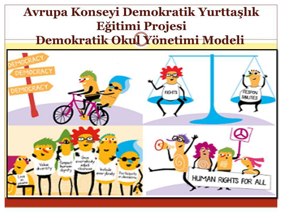 Avrupa Konseyi Demokratik Yurttaşlık Eğitimi Projesi Demokratik Okul Yönetimi Modeli