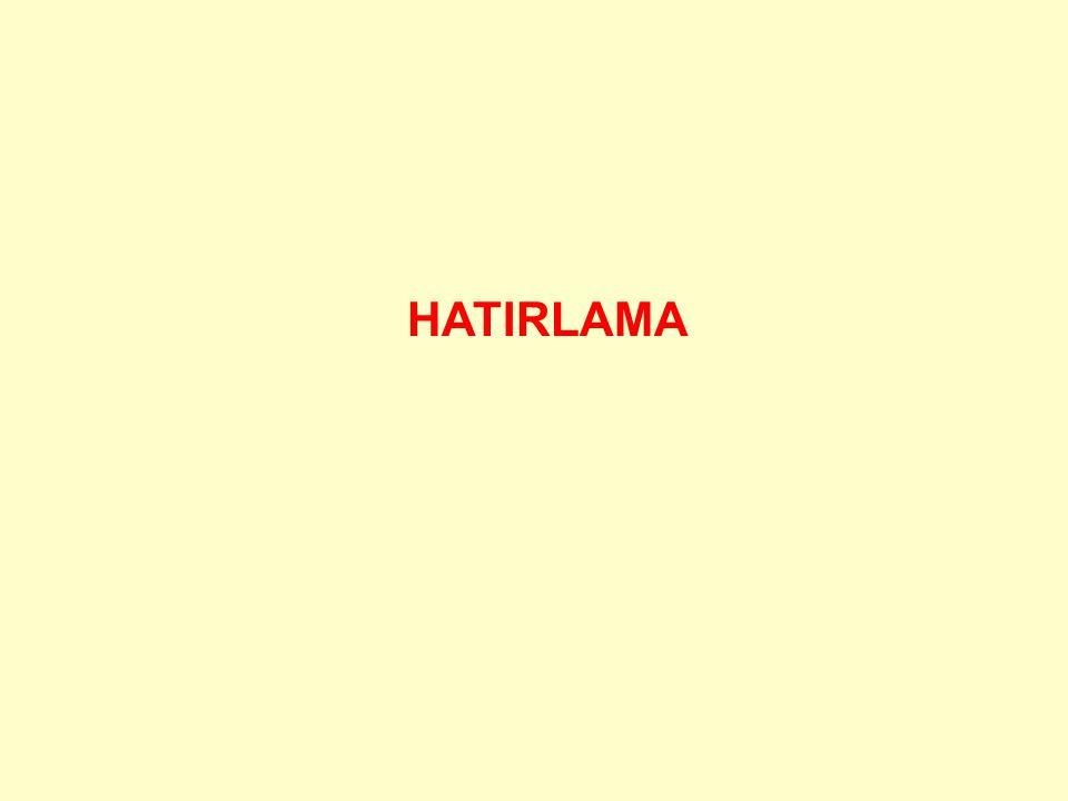 HATIRLAMA