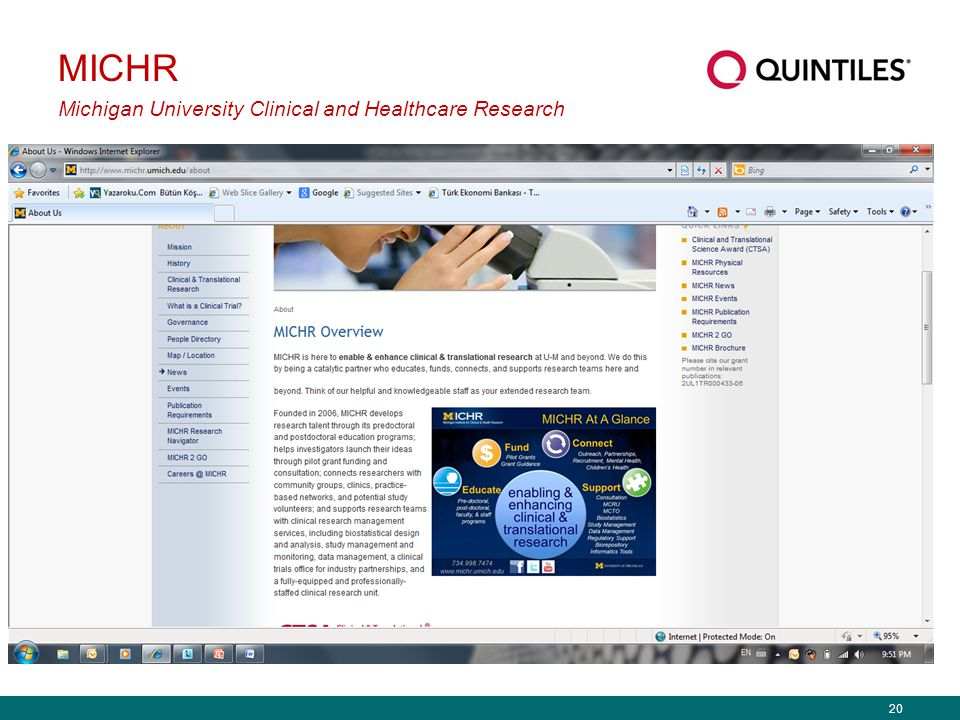 MICHR Michigan University Clinical and Healthcare Research