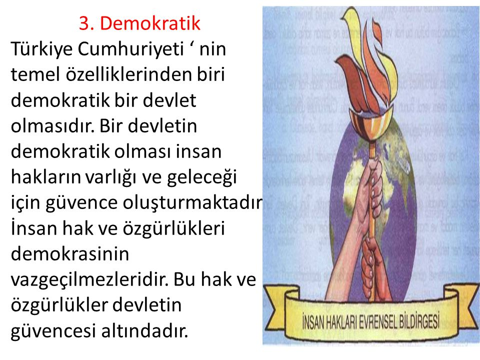 3. Demokratik