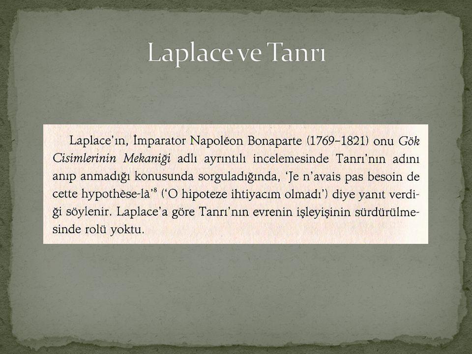 Laplace ve Tanrı
