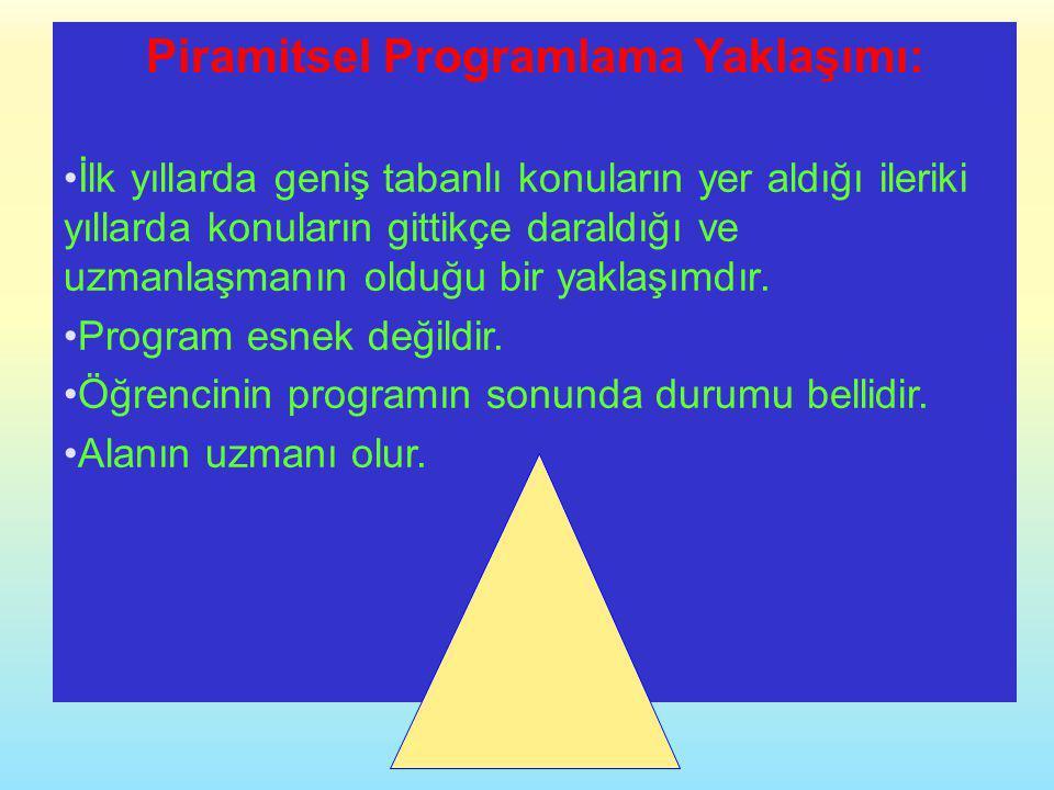 Piramitsel Programlama Yaklaşımı: