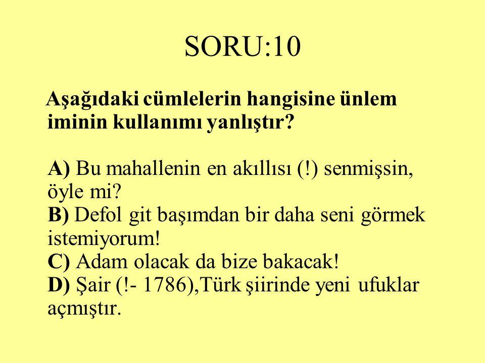 SORU:10