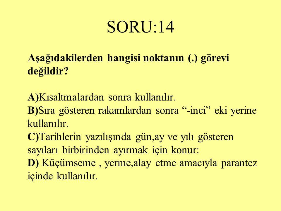 SORU:14