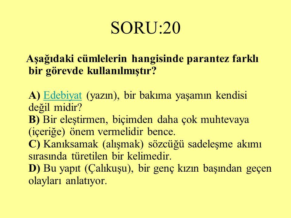 SORU:20