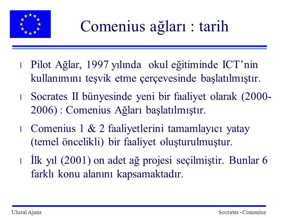 Comenius ağları : tarih