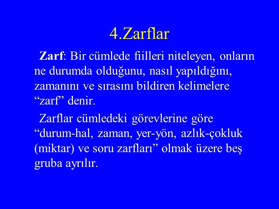 4.Zarflar