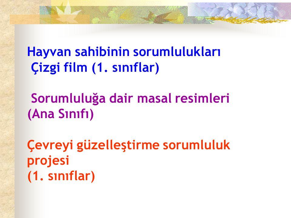 Hayvan sahibinin sorumlulukları Çizgi film (1